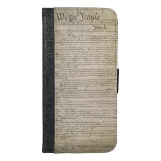 US Constitution iPhone 6/6s Plus Wallet Case
