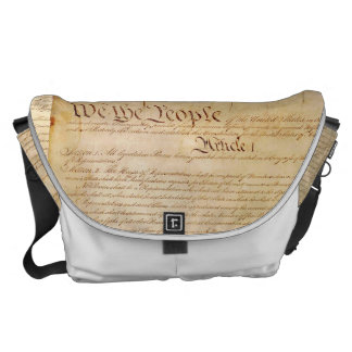 US CONSTITUTION COURIER BAG