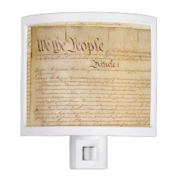 US CONSTITUTION NIGHT LIGHT
