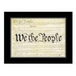 US Constitution Post Card