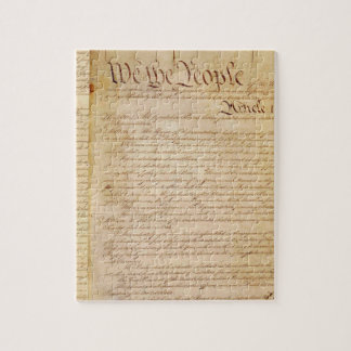 US CONSTITUTION JIGSAW PUZZLES