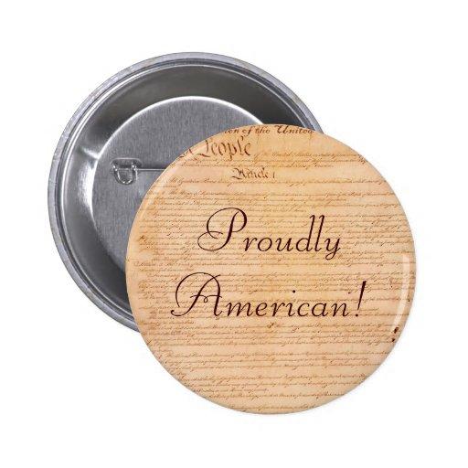 US CONSTITUTION Series 2 Inch Round Button