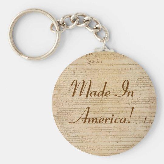 US CONSTITUTION Series Keychain