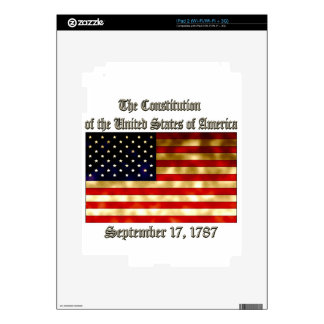 US Constitution Skin For The iPad 2