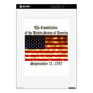 US Constitution iPad Skin
