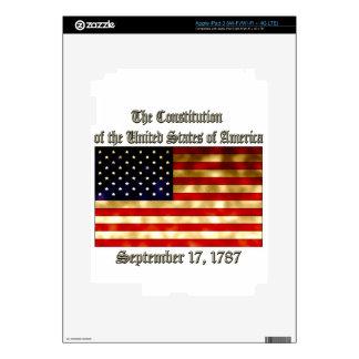 US Constitution iPad 3 Skin
