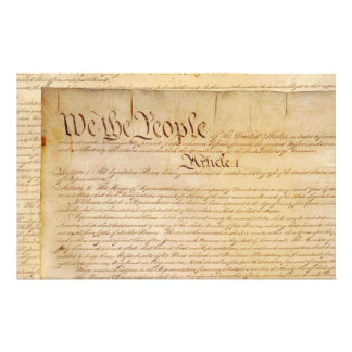 US CONSTITUTION STATIONERY