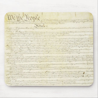 US Constitution We The People Mouse Pad