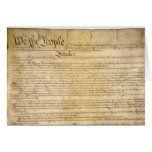 US Constitutional Freedoms - Know Your Rights! Card