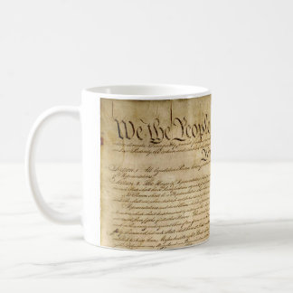 US Constitutional Freedoms - Know Your Rights! Classic White Coffee Mug