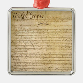 US Constitutional Freedoms - Know Your Rights! Metal Ornament