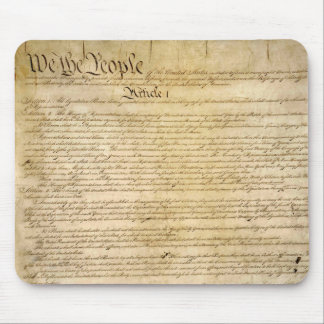 US Constitutional Freedoms - Know Your Rights! Mouse Pad