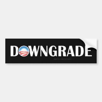 US Credit Downgrade Commemorative Sticker
