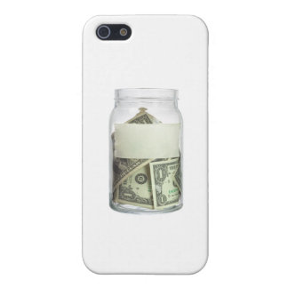 US currency in a jar Case For iPhone 5