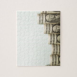 US currency uptrend graph Jigsaw Puzzle
