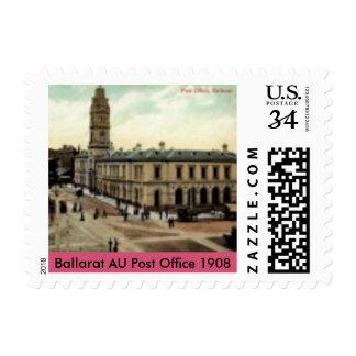 US Custom Stamps (Ballarat AU Post Office 1908)