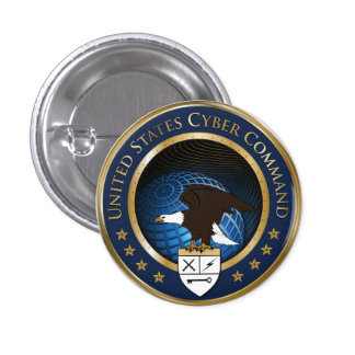 US Cyber Command Pins