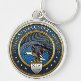 US Cyber Command Keychain