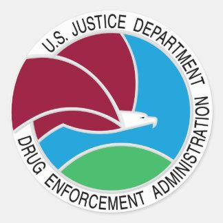 US DEA Drug Enforcement Administration Stickers