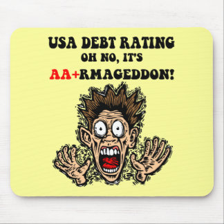 US Debt Mouse Pad