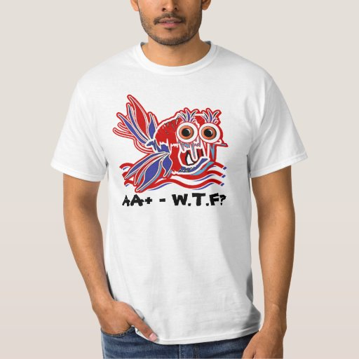 """""""us debt"""" recession funny fish T-Shirt"""