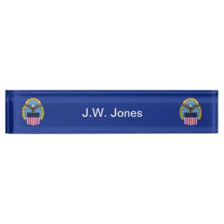 US Defense Logistic Agency Desk Name Plate
