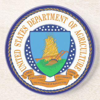 US Department of Agriculture Coaster