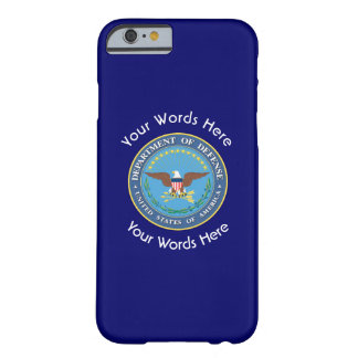 US Department of Defense Shield Barely There iPhone 6 Case