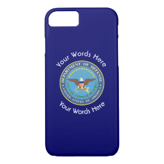 US Department of Defense Shield iPhone 8/7 Case