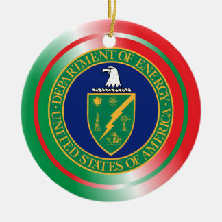 US Department of Energy Christmas Ornament