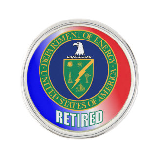 US Department Of Energy Retired Lapel Pin