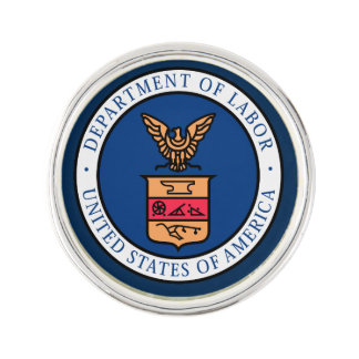 US Department Of Labor Lapel Pin