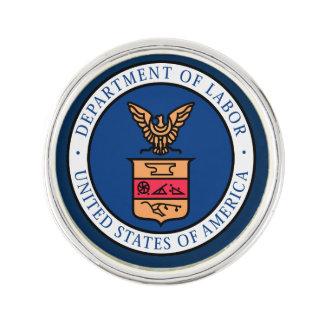 US Department Of Labor Lapel Pin