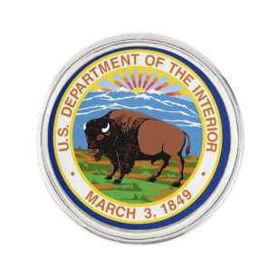 US Department Of The Interior Lapel Pin