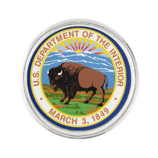 US Department Of The Interior Lapel Pin
