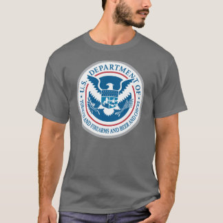 US Department of Tobacco and Firearms and Beer T-Shirt