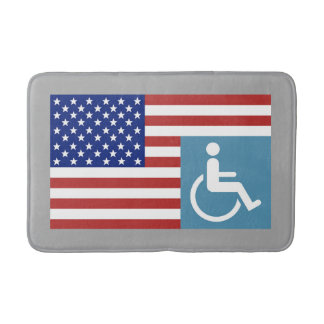 US Disabled Vetran Bath Mat
