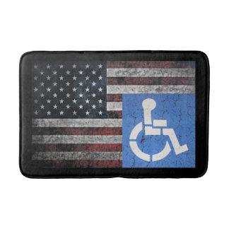 US Disabled Vetran Bathroom Mat