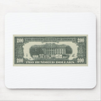 us dollar mouse pad