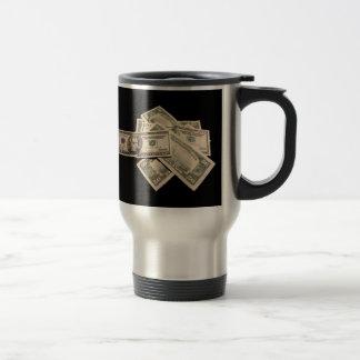US Dollars Travel Mug