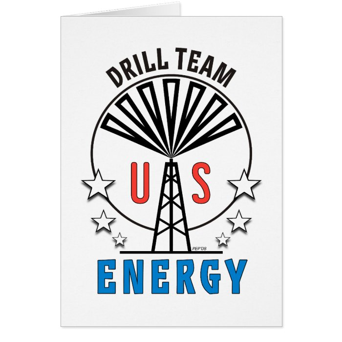 US Drill Team Card