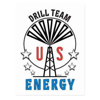 US Drill Team Postcard