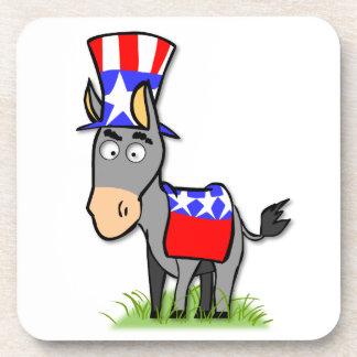 US Election Democrat Coaster