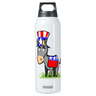 US Election Democrat 16 Oz Insulated SIGG Thermos Water Bottle
