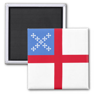Us Episcopal Church, religious 2 Inch Square Magnet