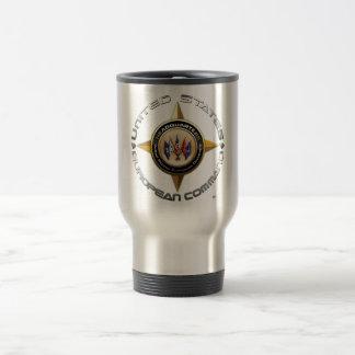 US European Command 15 Oz Stainless Steel Travel Mug