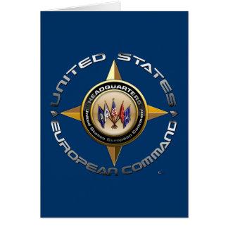 US European Command Card