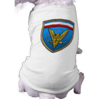 US European Command Dog Tee Shirt