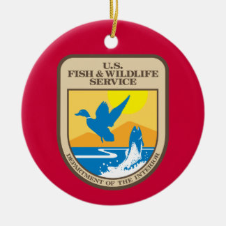 US Fish and Wildlife Service Christmas Ornament