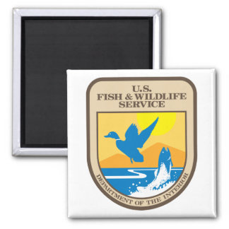 US Fish and Wildlife Service Magnet